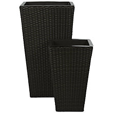 Buy John Lewis Milan Planters, Set of 2 Online at johnlewis.com