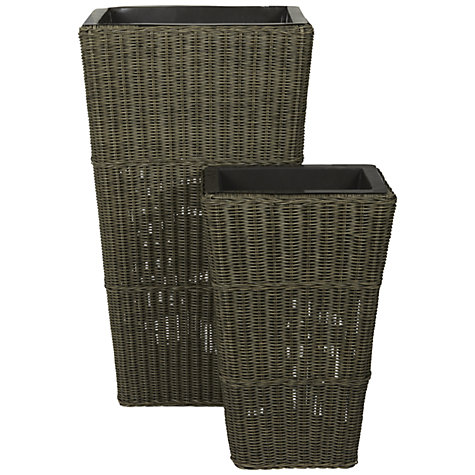 Buy John Lewis Rimini Set of 2 Planters Online at johnlewis.com