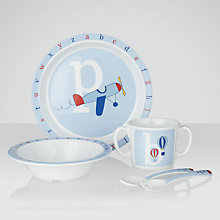 Buy John Lewis Alphabet Dining Set Online at johnlewis.com