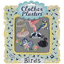 Buy Jennie Maizels Clothes Plasters, Birds, Pack of 6 Online at johnlewis.com