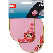 Buy Prym Russian Doll Patches, Pack of 2, Pink Online at johnlewis.com