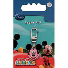 Buy Prym Mickey Mouse Zip Pull Online at johnlewis.com