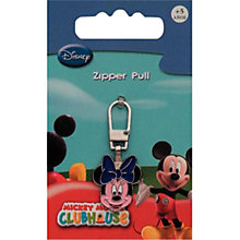 Buy Prym Minnie Mouse Zip Pull Online at johnlewis.com