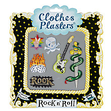 Buy Jennie Maizels Clothes Plasters, Rock and Roll, Pack of 6 Online at johnlewis.com