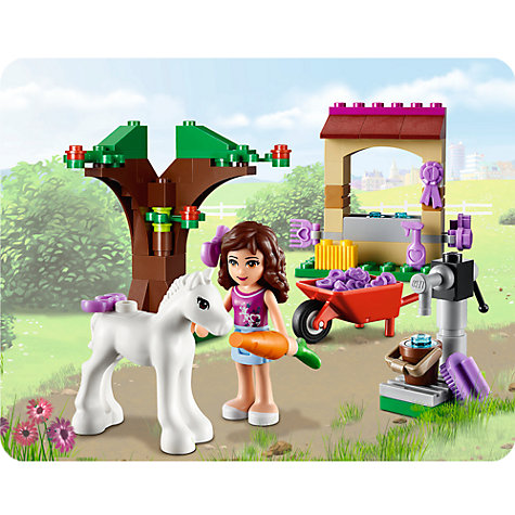 Buy LEGO Friends Olivia's Newborn Foal Online at johnlewis.com