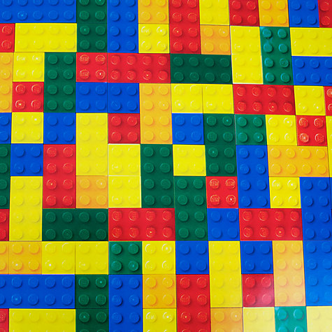 Buy Lego Gift Wrap, Bricks, 3m Online at johnlewis.com