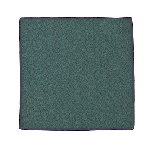 Buy John Lewis Archive Print Pocket Square, Green Online at johnlewis.com
