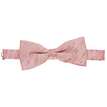 Buy John Lewis Chambray Bow Tie, Red Online at johnlewis.com