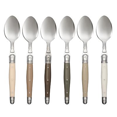 Laguiole Dubost Tonal Dessert Spoons, Set of 6