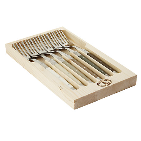 Buy Laguiole Dubost Tonal Table Forks, Set of 6 Online at johnlewis.com