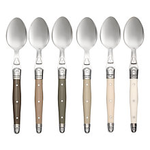 Buy Laguiole Dubost Tonal Teaspoons, Set of 6 Online at johnlewis.com