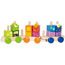 Buy Hape Fantasia Blocks Train Online at johnlewis.com
