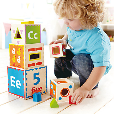 Buy Hape Pyramid of Play Online at johnlewis.com