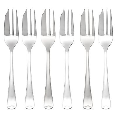 Arthur Price Old English Pastry Forks, 6 Piece