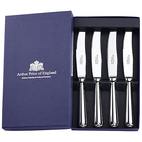 Buy Arthur Price Old English Steak Knives, Set of 4 Online at johnlewis.com