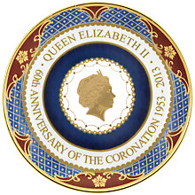 Buy Royal Worcester Coronation Coupe Plate Online at johnlewis.com