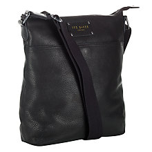 Buy Ted Baker Bigley Leather Flight Bag Online at johnlewis.com