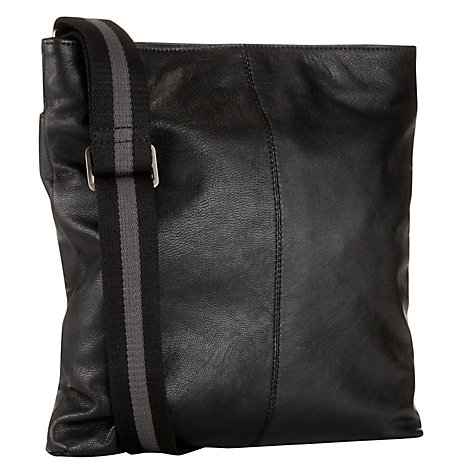 Buy John Lewis Dalston Leather Reporter Bag Online at johnlewis.com