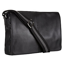 Buy John Lewis Dalston Leather Messenger Bag Online at johnlewis.com
