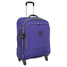 Buy Kipling Yubin 4-Wheel Spinner Suitcase, Medium, Blue Flash Online at johnlewis.com