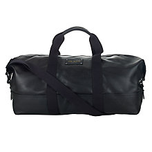 Buy Ted Baker Pedraza Leather Holdall Bag Online at johnlewis.com