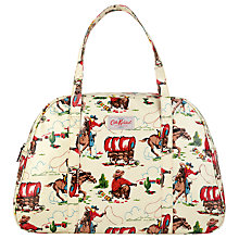Buy Cath Kidston Print Weekend Bag, Cowboy Cream Online at johnlewis.com