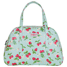 Buy Cath Kidston Print Weekend Holdall, Strawberry Blue Online at johnlewis.com