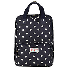"Buy Cath Kidston Spot 13"" Laptop Backpack, Navy Online at johnlewis.com"
