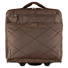 "Buy Radley Ivy 2-Wheel 17"" Laptop Quilted Work Bag Online at johnlewis.com"