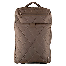 Buy Radley Ivy 2-Wheel Suitcase, Grey, Cabin Online at johnlewis.com