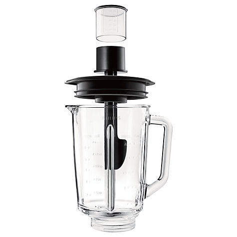 Buy Philips HR2096/01 Avance Collection Blender, Stainless Steel/Black Online at johnlewis.com