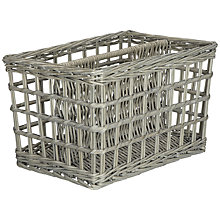 Buy John Lewis Grey Willow Magazine Rack Online at johnlewis.com