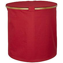 Buy House by John Lewis Collapsible Basket with Lid, Red Online at johnlewis.com