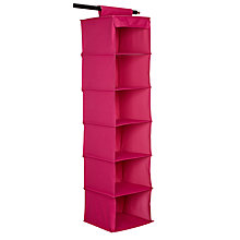 Buy House by John Lewis Hanging Sweater Organiser, Pink Online at johnlewis.com