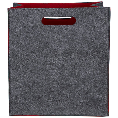 Buy John Lewis Felt Storage Bag, Medium Online at johnlewis.com