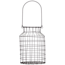 Buy Nkuku Mowie Wire Storage Basket Online at johnlewis.com
