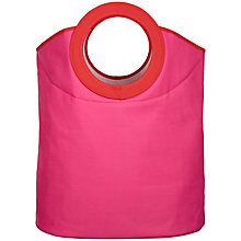Buy House by John Lewis Storage Bag, Pink Online at johnlewis.com