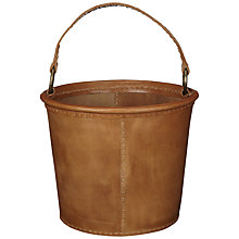 Buy Nkuku Savannah Leather Bucket Online at johnlewis.com