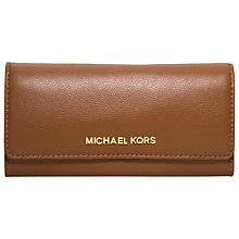 Buy MICHAEL Michael Kors Bedford Flap Wallet Online at johnlewis.com