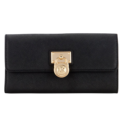 Buy MICHAEL Michael Kors Hamilton Large Flapover Purse Online at johnlewis.com