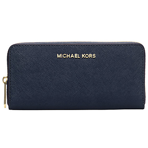 Buy MICHAEL Michael Kors Jet Set Travel Zip Around Purse Online at johnlewis.com