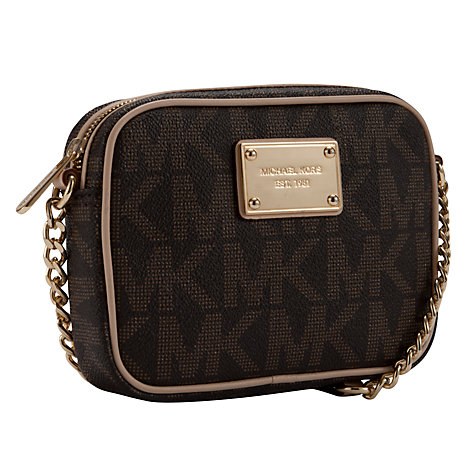 Buy MICHAEL Michael Kors Jet Set 18K Across Body Bag Online at johnlewis.com