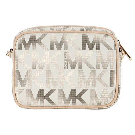 Buy MICHAEL Michael Kors Jet Set 18K Across Body Handbag Online at johnlewis.com