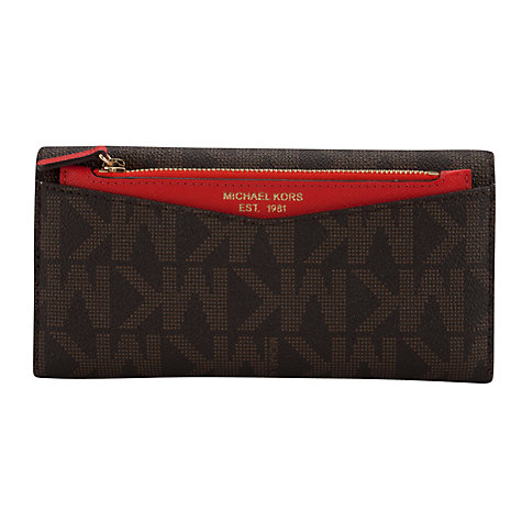 Buy MICHAEL Michael Kors Saffiano Carryall Purse Online at johnlewis.com