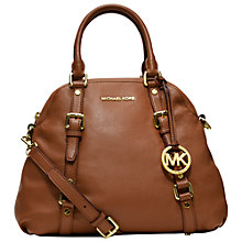 Buy MICHAEL Michael Kors Bedford Leather Bowling Bag Online at johnlewis.com