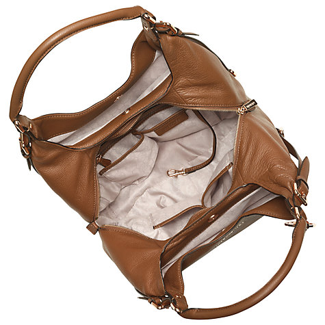 Buy MICHAEL Michael Kors Bedford Leather Large Shoulder Tote Bag Online at johnlewis.com