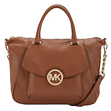 Buy MICHAEL Michael Kors Fulton Large Satchel Handbag Online at johnlewis.com