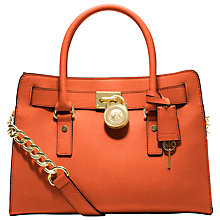 Buy MICHAEL Michael Kors Hamilton Satchel Handbag Online at johnlewis.com
