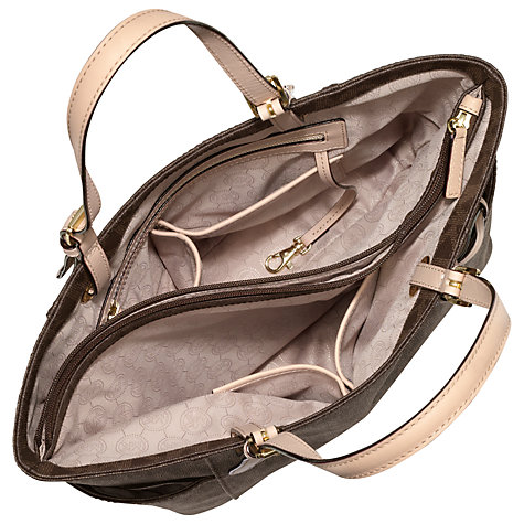 Buy MICHAEL Michael Kors Jet Set Signature Tote Handbag Online at johnlewis.com