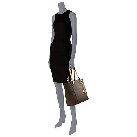 Buy MICHAEL Michael Kors Jet Set Signature Tote Bag Online at johnlewis.com